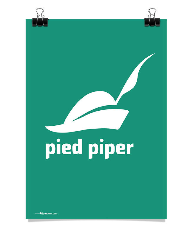 Poster - Pied Piper Logo Poster from the TV Series Silicon Valley on HBO 24x36 / Poster - 1