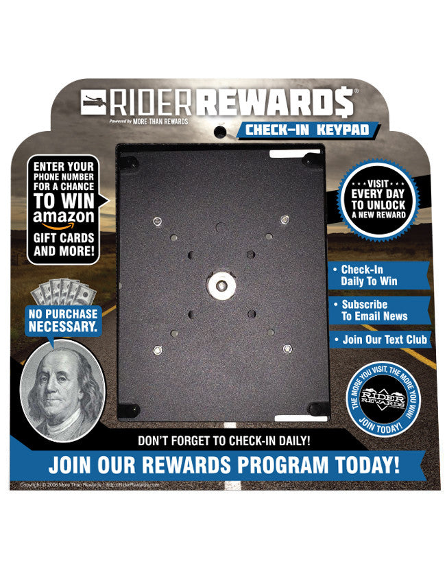 - Rider Rewards <br> Self Install Kit  - 4