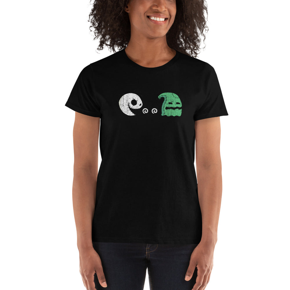 Pumpkin King Chase Ladies Ultra Cotton T-shirt