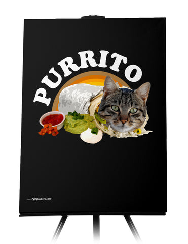 Canvas - Purrito  - 1