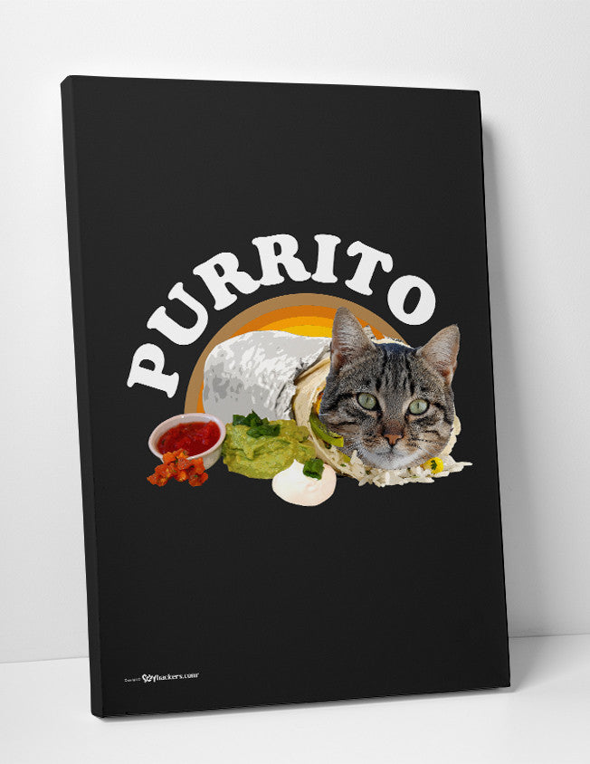 Canvas - Purrito  - 2