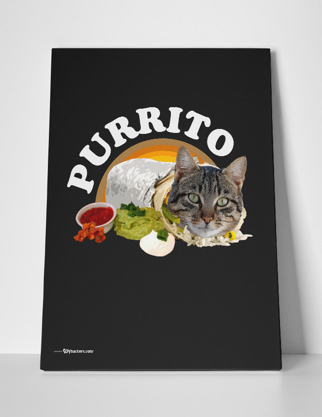 Canvas - Purrito  - 3