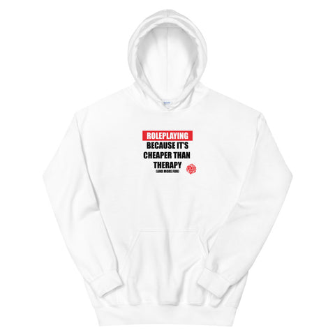 Role Playing vs Therapy Unisex Hoodies