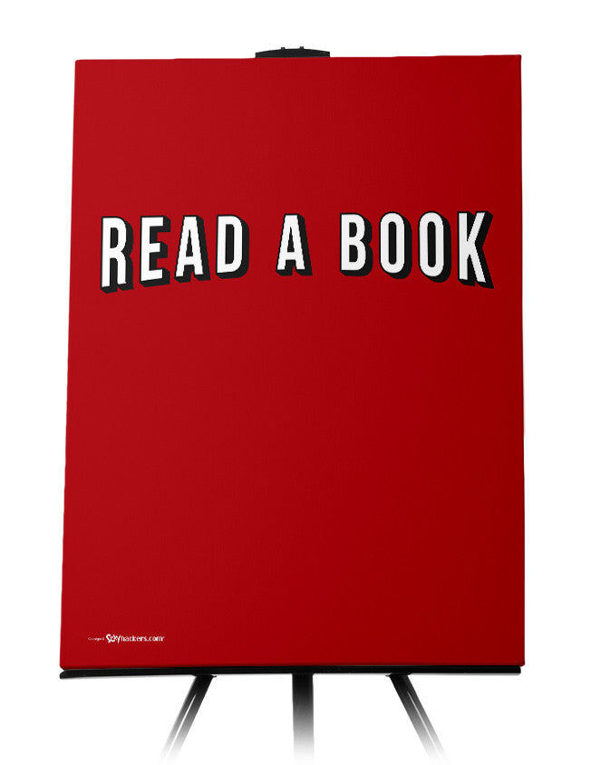 Canvas - Read A Book  - 1