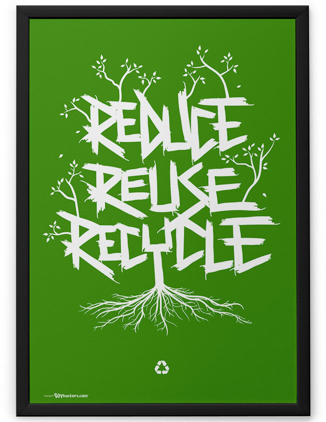 Poster - Reduce Reuse Recycle  - 2
