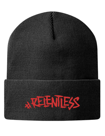 Knit Beanie - #Relentless  - 1