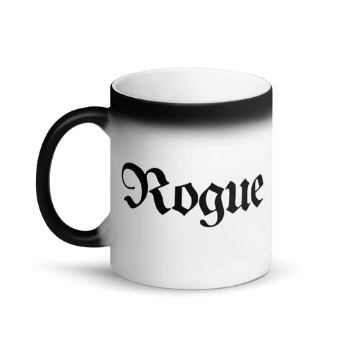 Rogue RPG Character Class Color-Changing Coffee Mug
