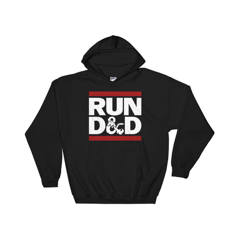 Run D&D Men's Unisex Hoodie by Sexy Hackers