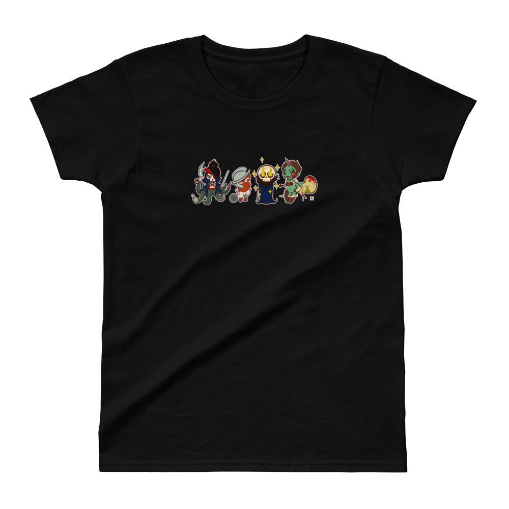 SHTV All Character Ladies Ultra Cotton T-shirt