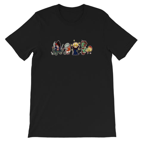 SHTV All Character Unisex T-shirt