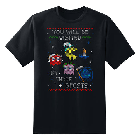8-Bit Video Game Custom Holiday Design T-Shirt