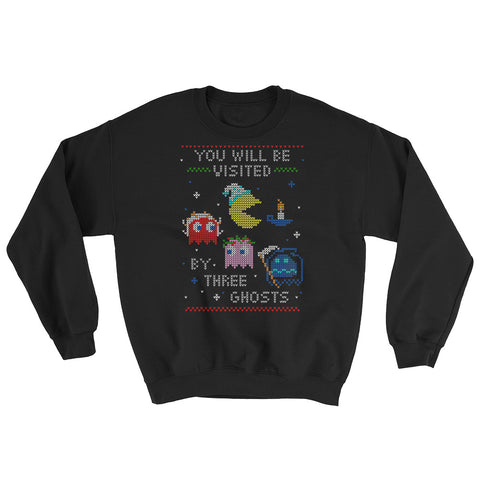 Sexy Hackers Custom Holiday Design Unisex Crew-Neck Sweatshirt