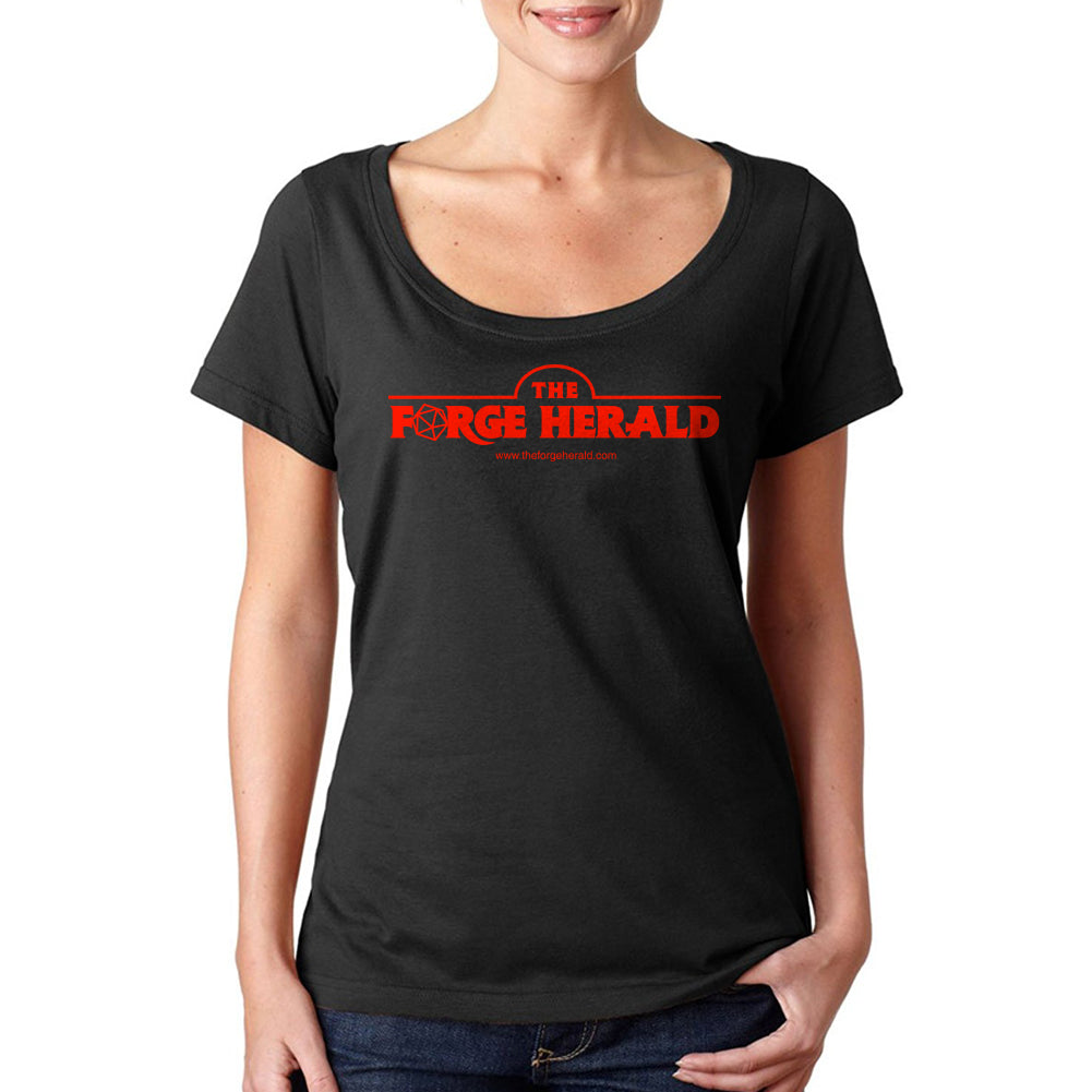 The Forge Herald Women's Sheer Scoopneck Tee