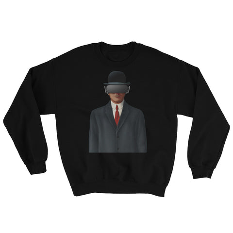 Son of Oculus Cut-Out Variation Crew Neck Sweatshirt