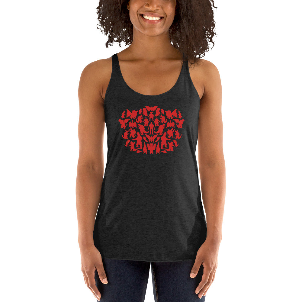 Sheldonzilla Women's Racer-back Tank-top