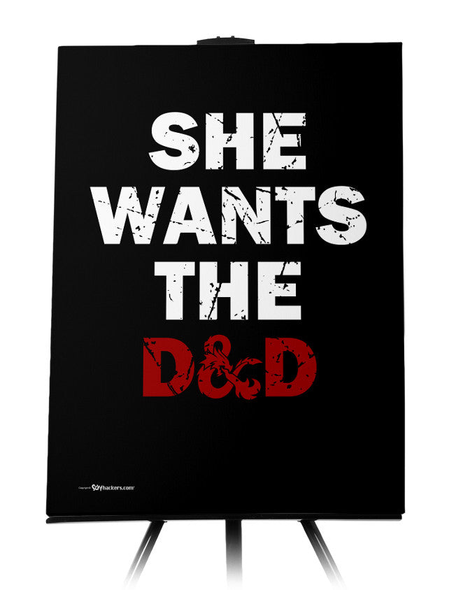 She Wants The D&D