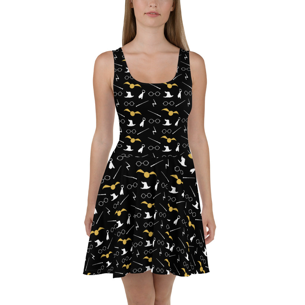Potwarts Skater Dress