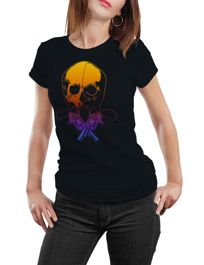 Shirts - Skull & Crossed Guns  - 3