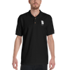Sleepy Ralph Embroidered Headless Horseman Unisex Polo Shirt