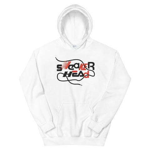 SneakerHead - Standard on White Unisex Hoodies