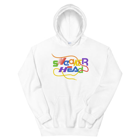 SneakerHead - Rainbow on White Unisex Hoodies