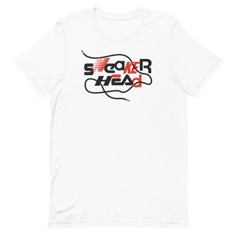 SneakerHead - Standard on White Unisex T-shirt