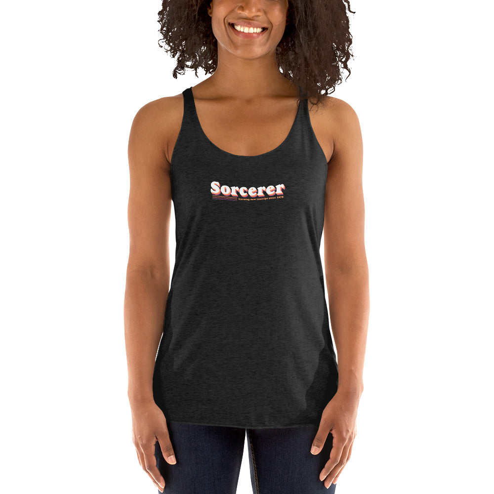 Sorcerer Women's Racer-back Tank-top
