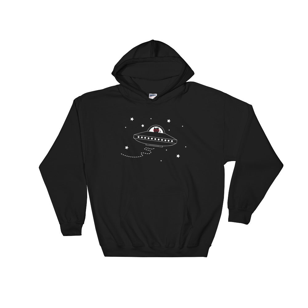 Space Ship Kitty Unisex Hoodies
