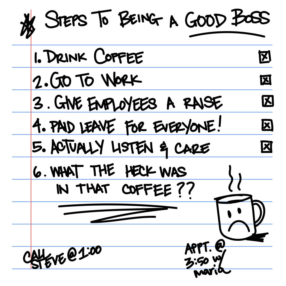 6 Steps To Being A Good Boss