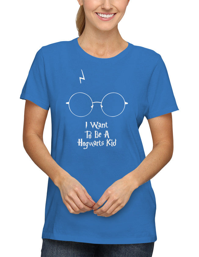 Shirt - I want To Be A Hogwarts Kid  - 2
