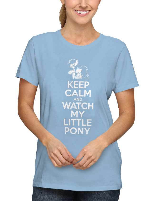 Shirt - Keep Calm and Watch My Little Pony  - 2