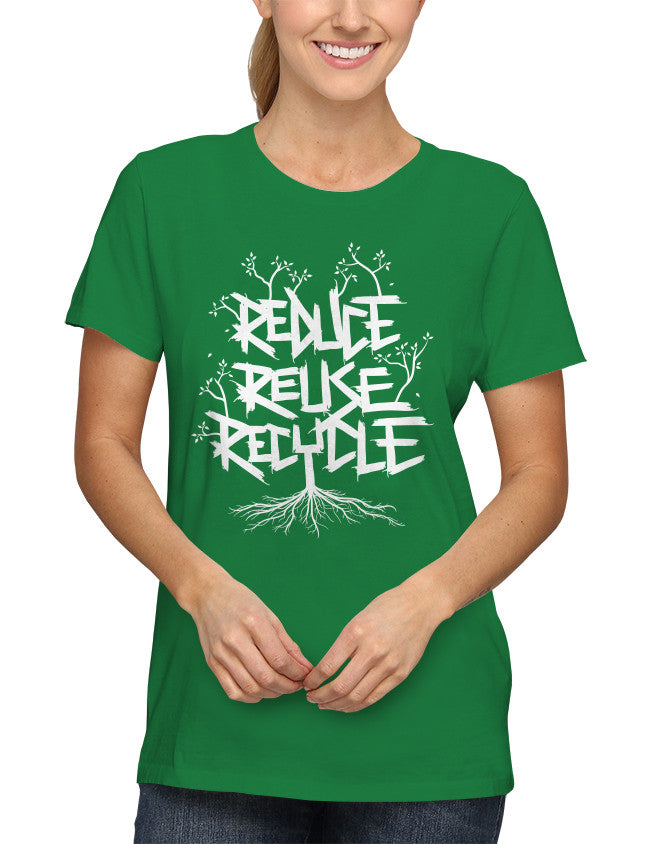 Shirt - Reduce Reuse Recycle  - 2