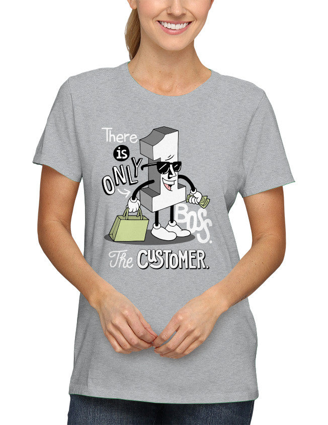 Shirt - There is only one boss. The customer.  - 2