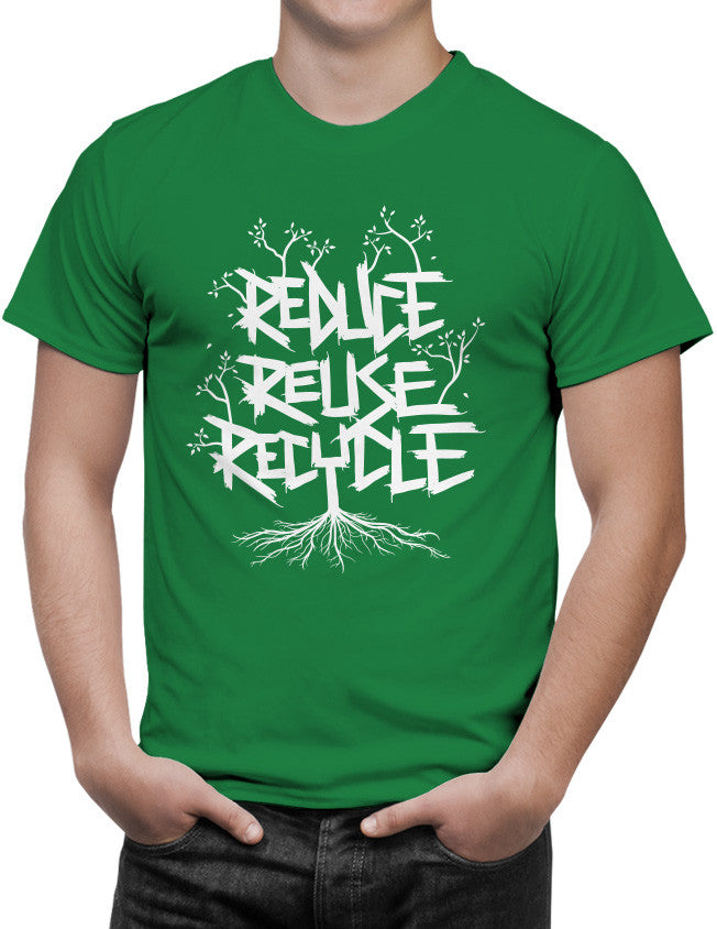 Shirt - Reduce Reuse Recycle  - 3