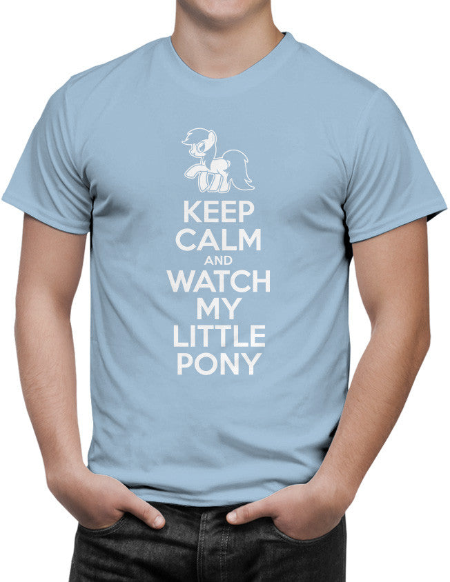 Shirt - Keep Calm and Watch My Little Pony  - 3
