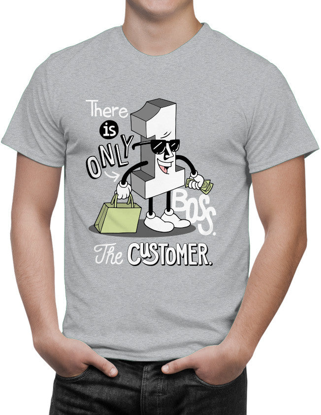 Shirt - There is only one boss. The customer.  - 3