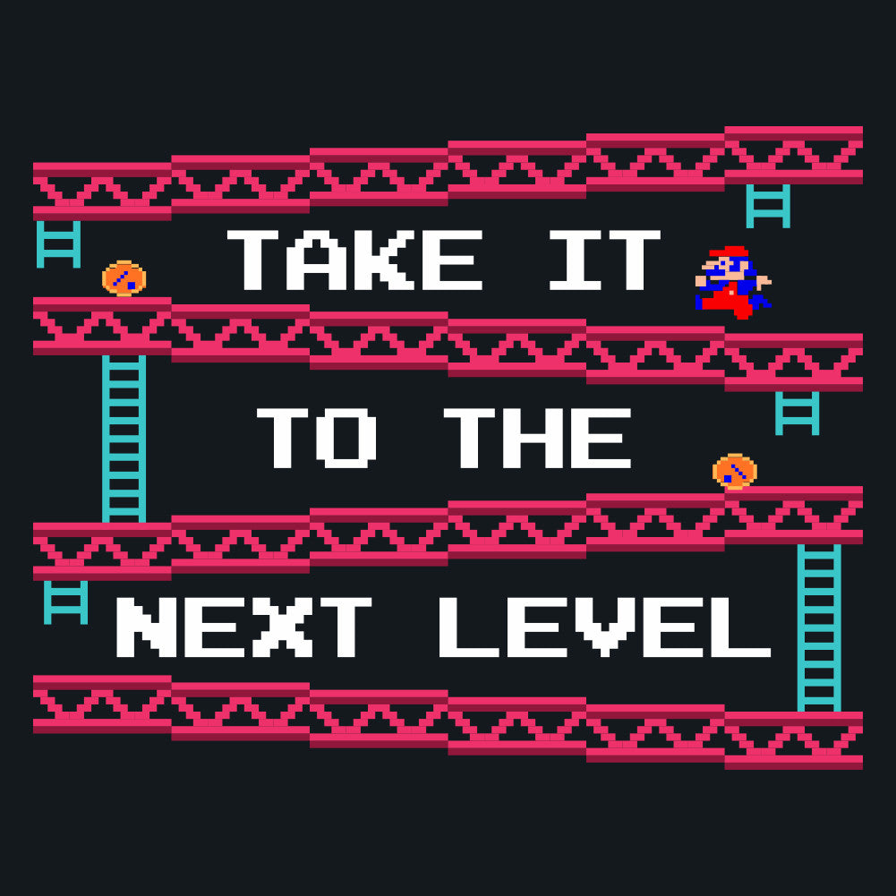 Take It To The Next Level Donkey Kong Unisex T-Shirt