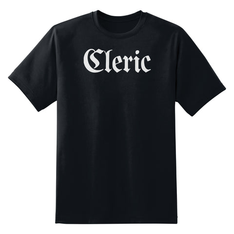 Cleric Class Large Title T-Shirt
