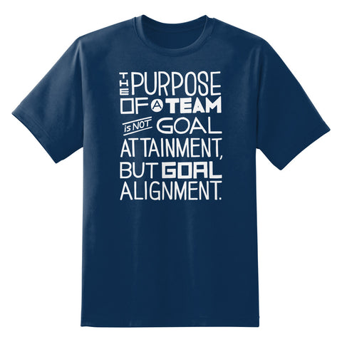 The Purpose of a Team Quote Tom DeMarco Unisex T-Shirt by Sexy Hackers