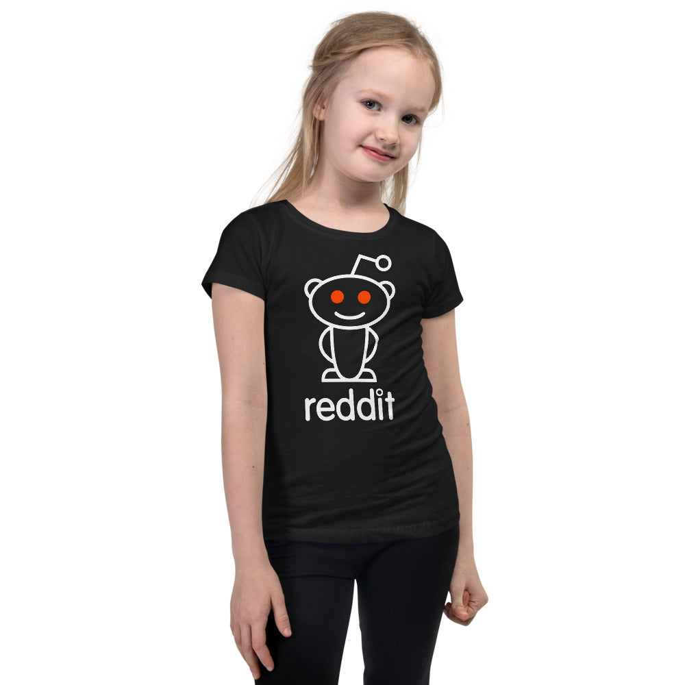 The Ultimate Reading Robot Logo Princess T-shirt