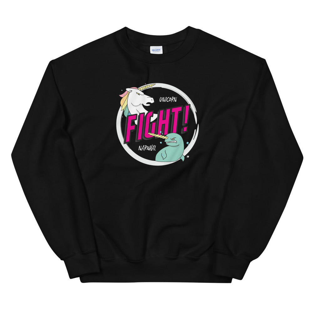 Unicorns Vs Narwalls Unisex Sweatshirts