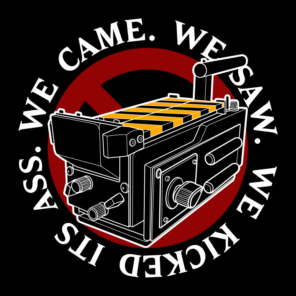 We Came We Saw We Kicked Its Women's Racer-back Tank-top