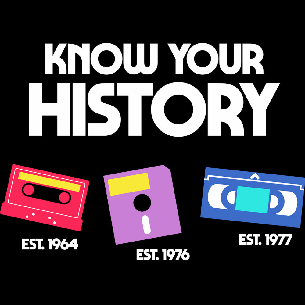 Know Your History Unisex Hoodies