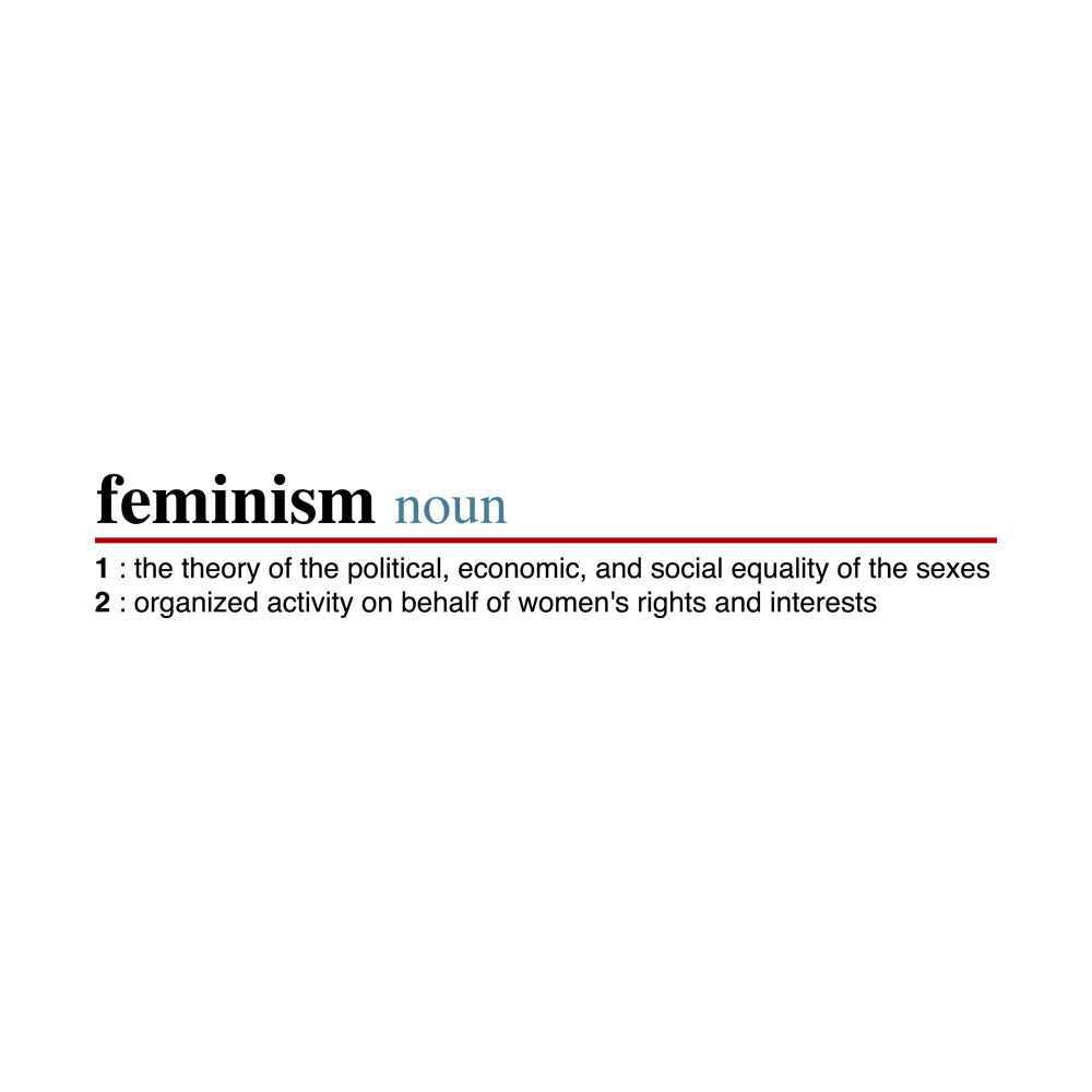 Feminism Definition Ladies Ultra Cotton T-shirt