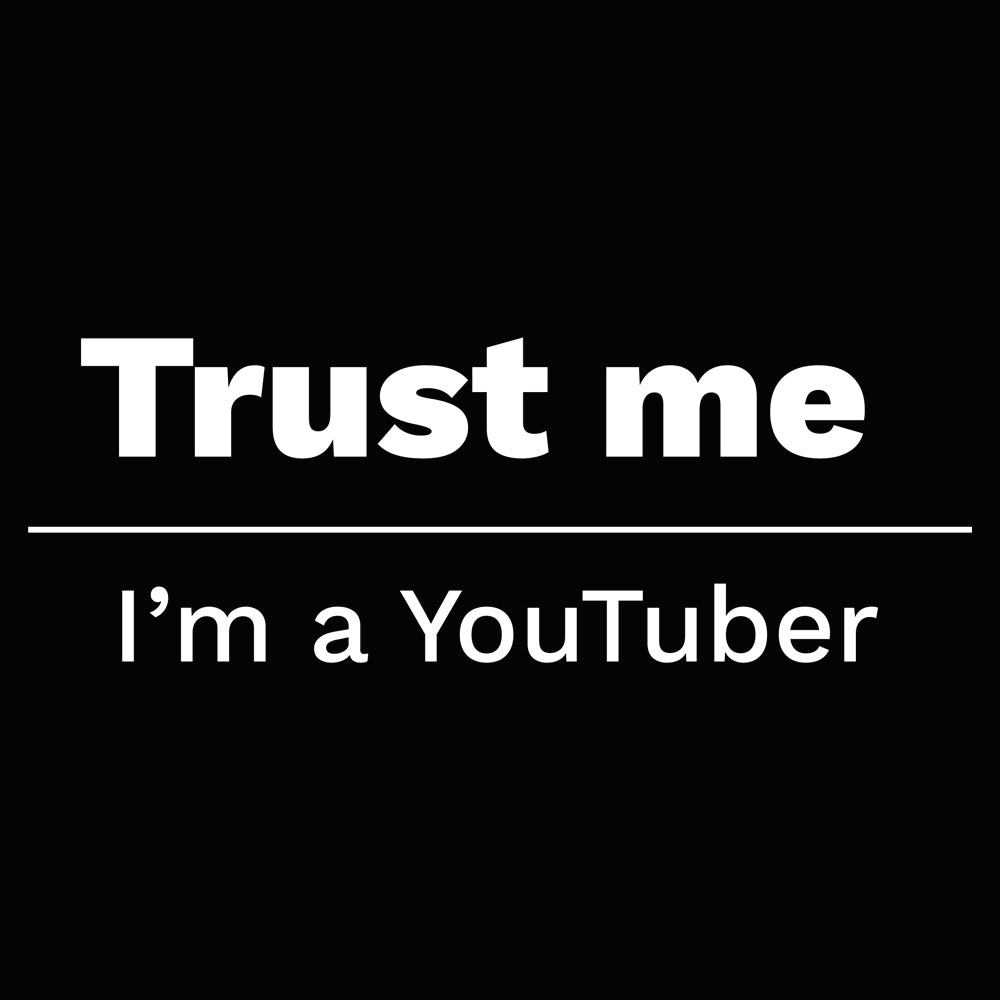 Trust me, I'm a YouTuber Women's Scoopneck T-shirt
