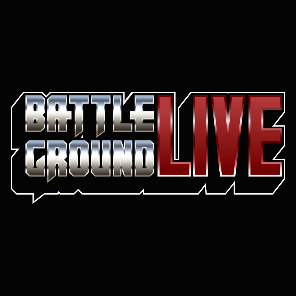 BattlegroundLIVE Logo Women's Racer-back Tank-top