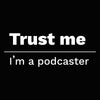 Trust Me I'm a Podcaster Women's Scoopneck T-shirt