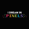I Dream In Pixels Women's Racer-back Tank-top