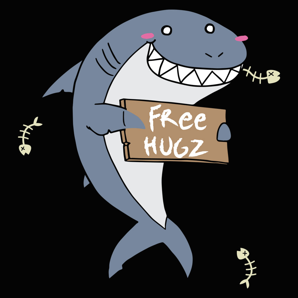 Hug Shark Ladies Ultra Cotton T-shirt