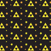 Triforce Patterned  Yoga Leggings